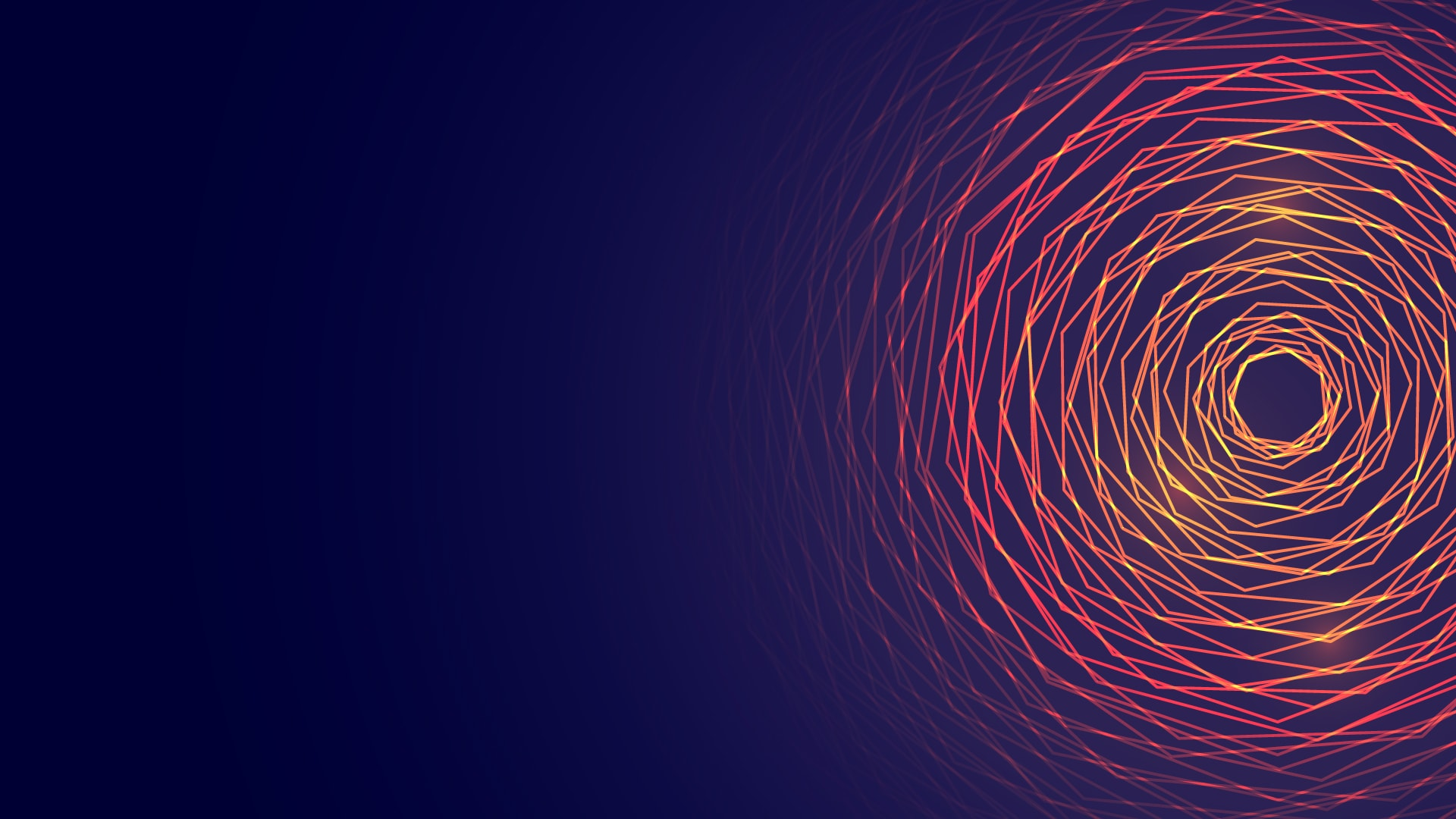 abstract circular glowing lines background3